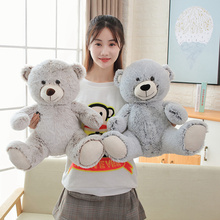 цена на Lovely High Quality Toy Cartoon Teddy Bear Plush Toys Stuffed Soft Teddy Bear Doll Birthday Gift For Children  Valentine's Gift