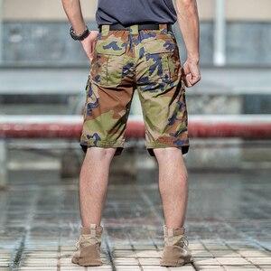 Image 5 - Khu Vực 7 2020 Mùa Hè Mới Nam Ngụy Trang Chiến Thuật Hàng Hóa Váy Nam Silm Làm Việc Quần Short Người Quân Quân Sự Ngắn Quần