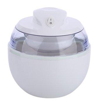 220V maszyna do lodów domowych maszyna do lodów przenośna kostkarka do lodu dostępna łatwa obsługa wysoka jakość 0 6L tanie i dobre opinie ICOCO other 500-1000 ml CN (pochodzenie) SMJ-06A White overheat protection