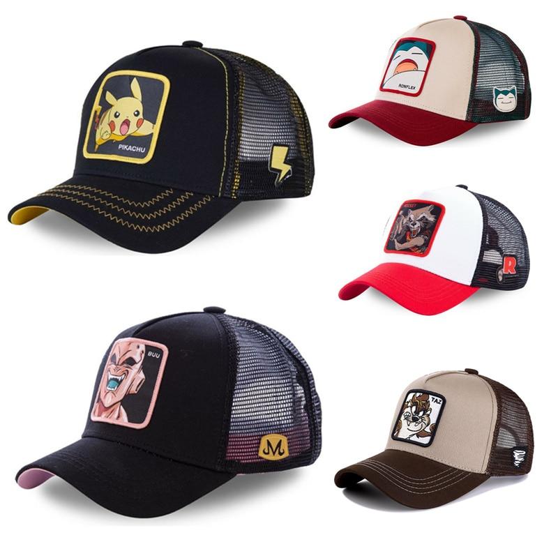 New Dragon Ball Taz Snapback Cap Cotton Baseball Cap Men Women Hip Hop Dad Hat Trucker Mesh Hat Dropshipping