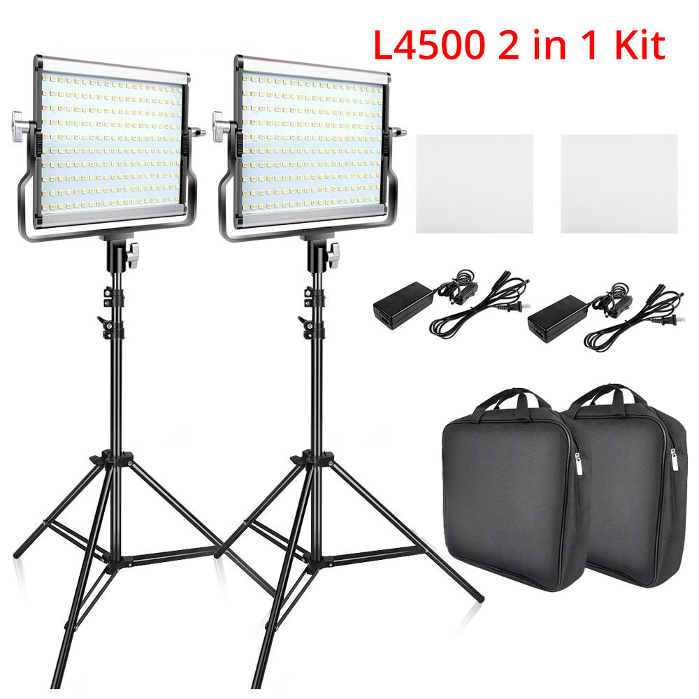 Ring Light LED Video Light Lamp with Tripod Stand 4