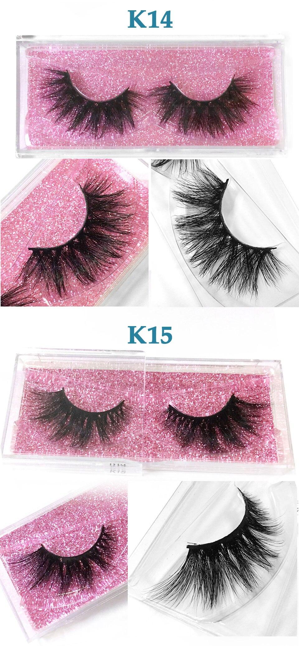 longo fofo desarrumado 3d cílios maquiagem cílios de olho