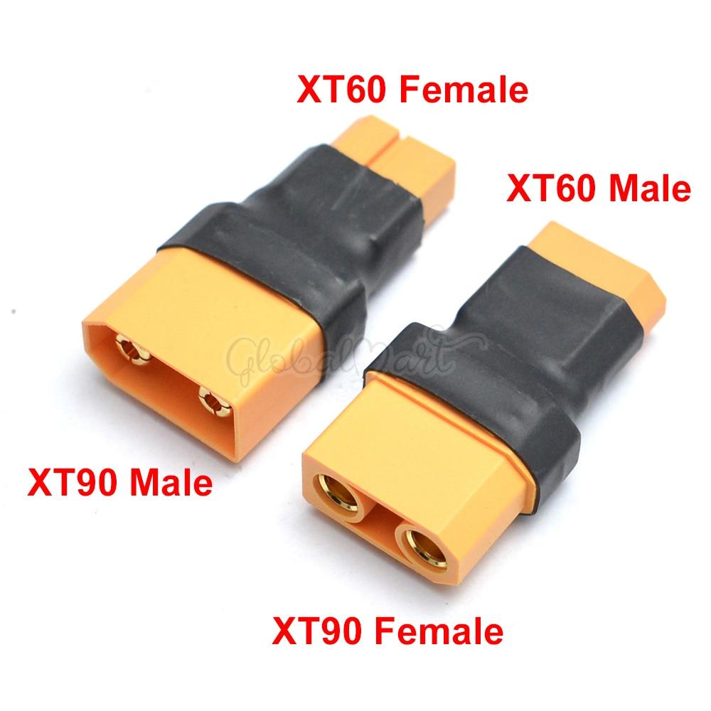 Переходник штекер/гнездо XT60 на гнездо XT90 штекер/штекер адаптер преобразования
