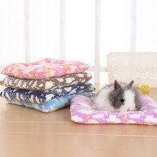 Animal pequeno cobaia hamster cama casa inverno quente esquilo ouriço coelho chinchila cama esteira casa ninho hamster acessórios