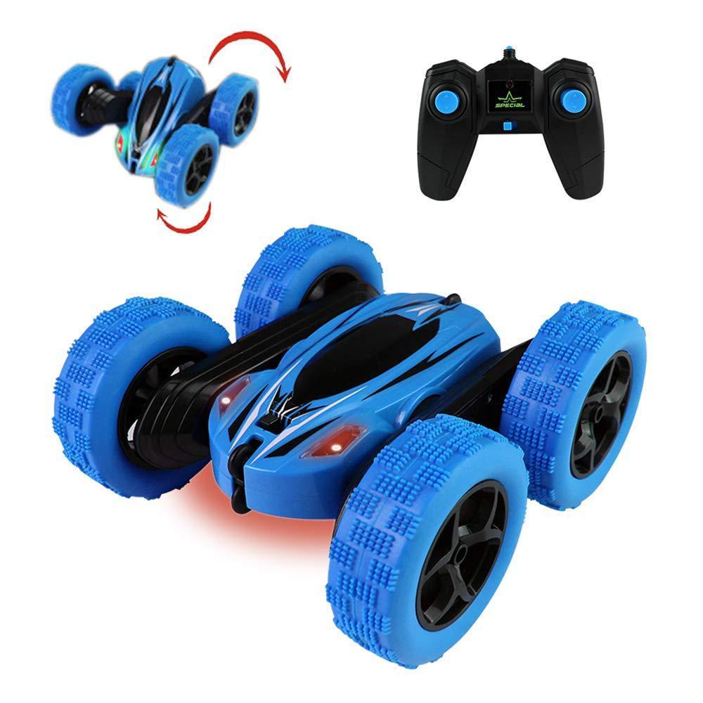 Carro rc 2.4g 4ch dublê deriva deformação buggy carro rock crawler rolo carro 360 graus flip crianças robô rc carros brinquedos para presentes