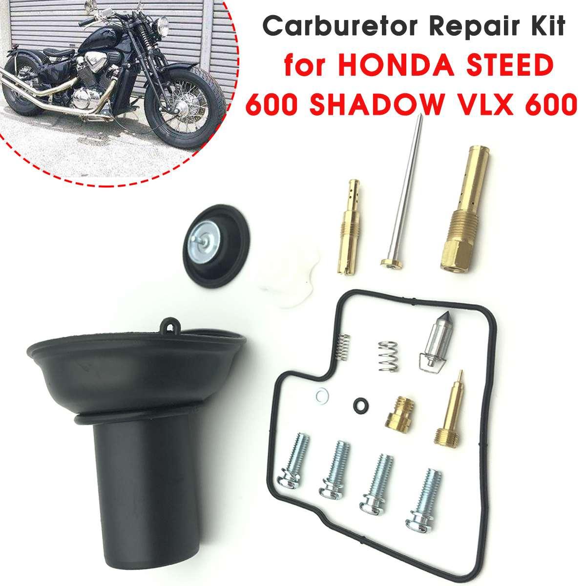 Carburetor Diaphragm Repair Kit for HONDA STEED 600 SHADOW VLX 600 Carb Rebuild Kit