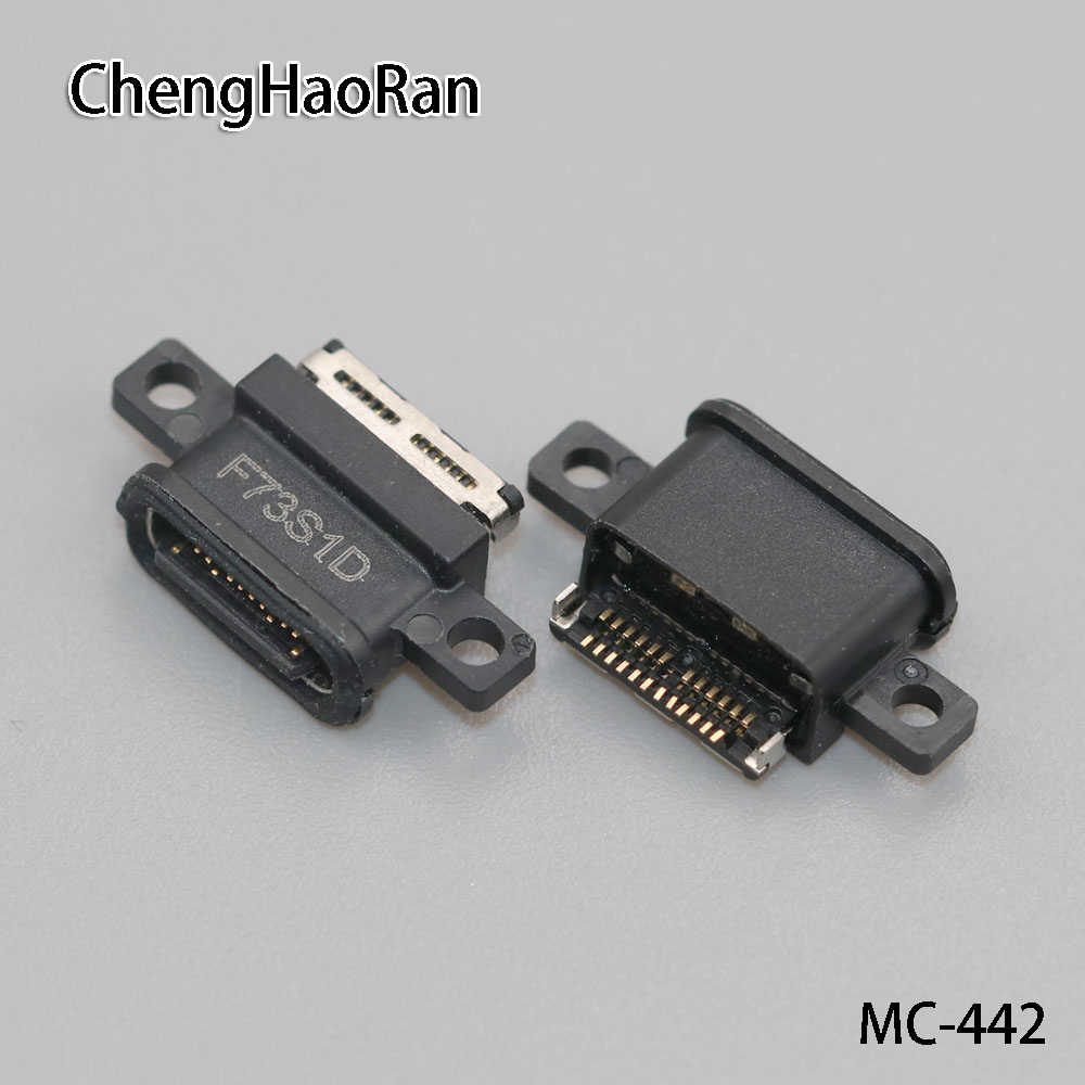 ChengHaoRan 30PCS/lot micro USB Jack Connector Socket plug parts For Xiaomi 6 waterproof Tail plug-in of mobile data interface image