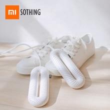Sothing sapatos secador 220v portátil casa esterilização elétrica uv temperatura constante secagem desodorização de xiaomiyoupi