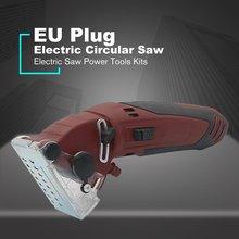 Mini Electric Circular Saw DIY Multifunctional Electric Saw Power Tools Kits Rot