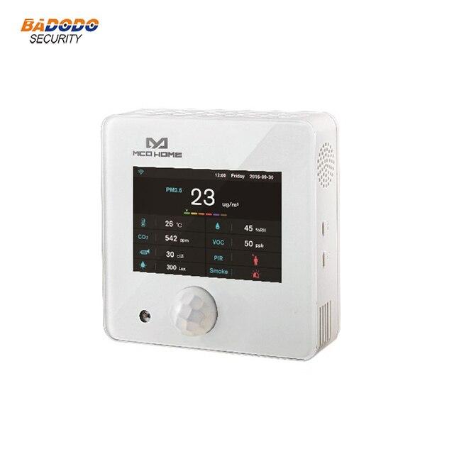 Z גל MCO בית A8 9 רב חיישן EU868.42MHz טמפרטורת לחות PM2.5 CO2 PIR כל אחד חיישן גלאי
