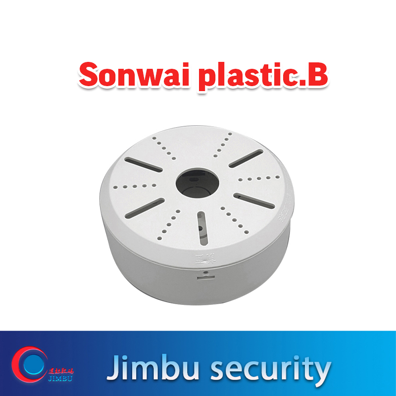 Dome IP Camera Wall Bracket ABS Plastic Universal Security Cctv Camera Bracket Apply Tibetan Plastic Box