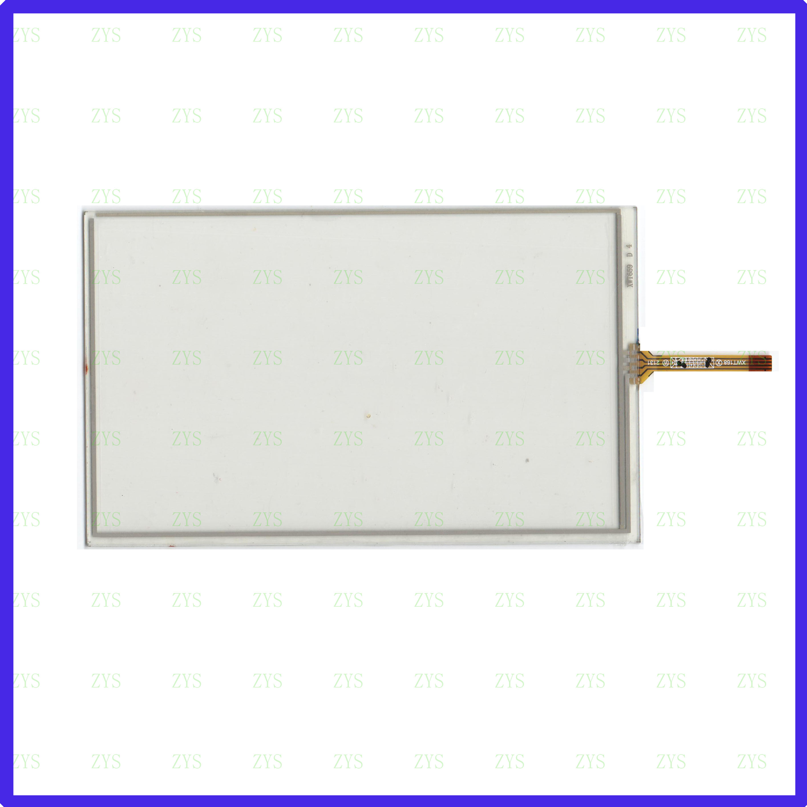 ZhiYuSun For Winca S100 WINCE6 Compatible 7inch Touch Screen Glass 4 Lines  Resistive   TOUCH SCREEN