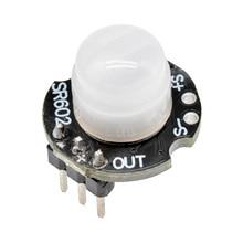 Мини SR602 PIR датчик движения Детектор модуль пироэлектрический инфракрасный телесный датчик человека переключатель с высокой чувствительностью