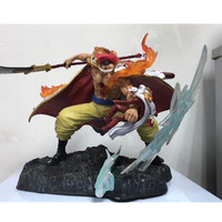 22CM Anime ONE PIECE Edward Newgate Whitebeard Sakazuki Battle Version PVC Action Figure Collectible Large Statue Model Toy G950