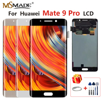 5.5Original LCD For Huawei Mate 9 Pro LCD Touch Screen Display Digitizer Assembly Parts With Frame For Mate 9 Pro Display