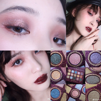 15 Color Glitter Eyeshadow Makeup Palette Shimmer Matte Eyeshadow Palette Shine Diamond Eyeshadow Powder Pigmented Cosmetic фото