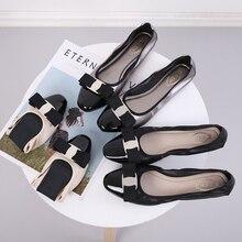 Scarpe Donna Sapato Feminino Zapatos Mujer 2019 Mocassini Donne Ballerina Femme Donne Scarpe basse Scarpe di Balletto appartamenti Punta Rotonda In Gomma PU