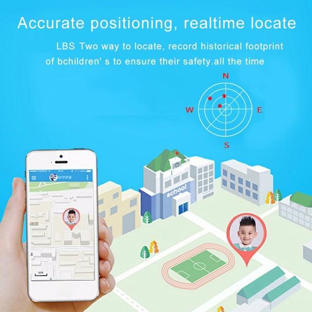 2021 kids smart watch Waterproof baby SOS Positioning 2G SIM Card Anti-lost Smartwatch children Tracker smart clock Call watch 4