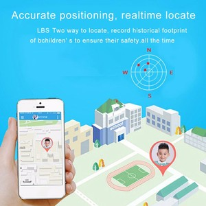 Image 4 - 2020 kids smart watch Waterproof baby SOS Positioning 2G SIM Card Anti lost Smartwatch children Tracker smart clock Call watch