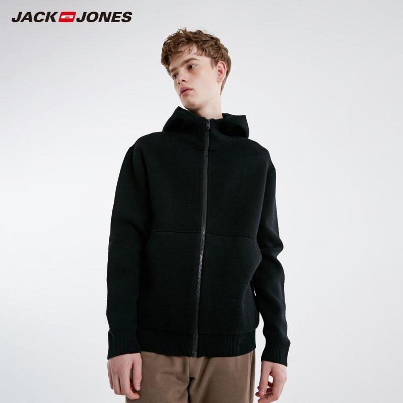 JackJones Men's Basic Style Solid Colour Knitwear Jacket 219125506