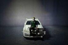 Классический Персонаж из фильма клоуна из смолы, литой под давлением, масштаб 1/64, модель сцены, коллекционная декоративная памятная игрушка