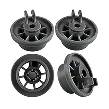 4 шт. посудомоечная машина Нижняя подвесная корзина Dishrack колесо для джакузи/Profilo/Bosch/Siemens/NEFF набор Нижняя корзина запасные части