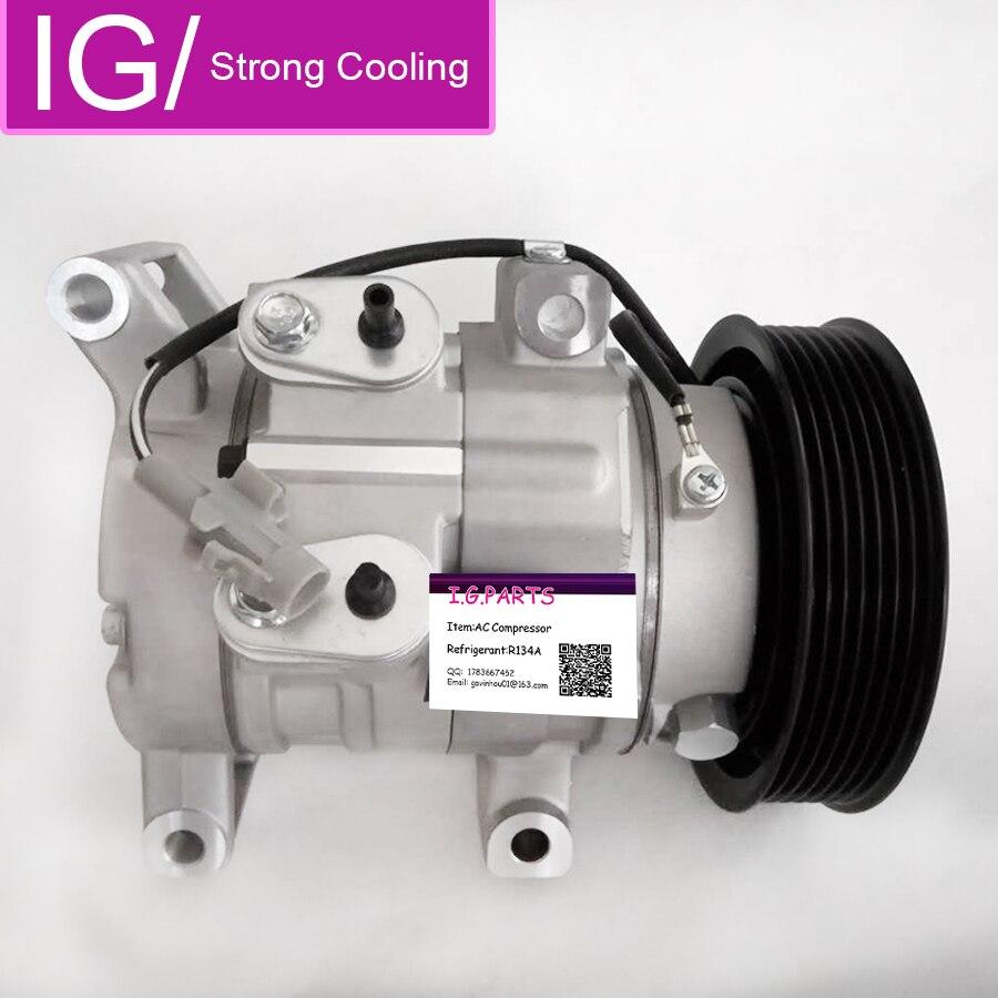Новый компрессор переменного тока для Toyota Hilux Vigo RAV4 4471601970 4471602820 4471807202 4471807201, компрессор кондиционера для toyota