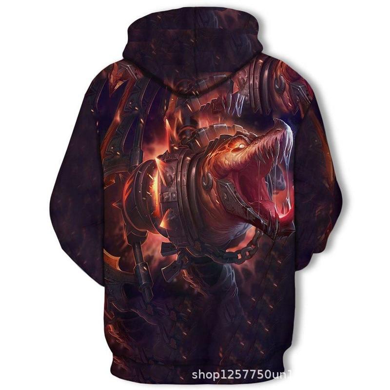 H983c2166465b4361a9b31105e378dc7ff 2019 Magic color Galaxy Wolf Hoodie Hoodies Men Women Fashion Spring Autumn Pullovers Sweatshirts Sweat Homme 3D Tracksuit