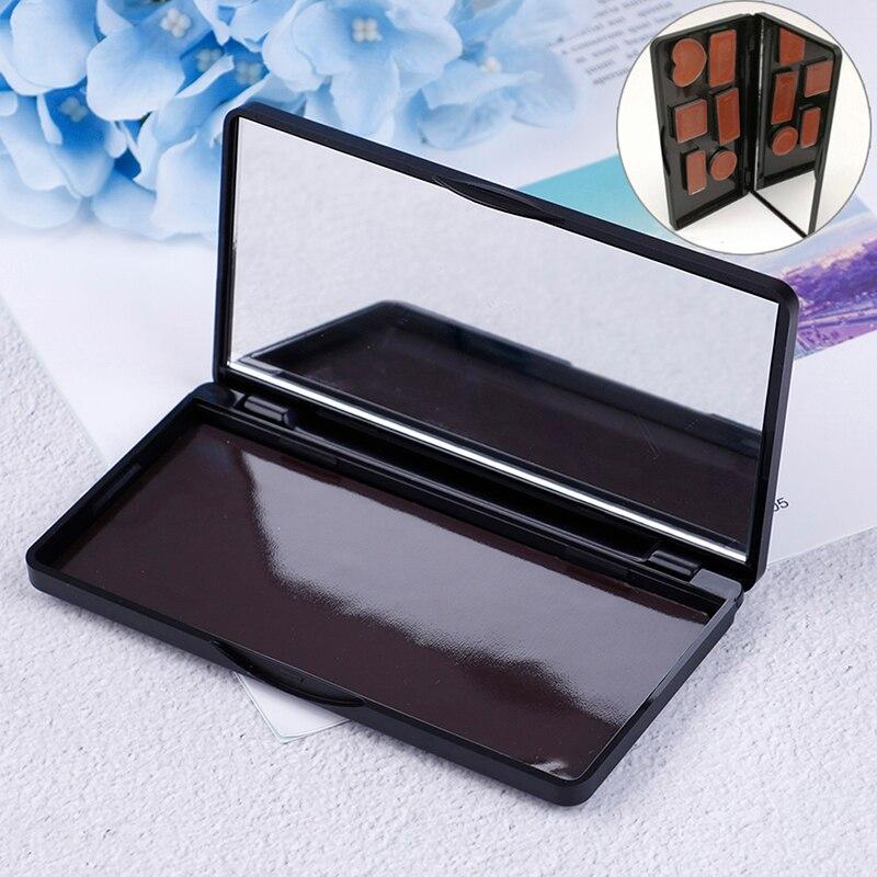 1 шт. сетки горшки красоты глазурованная пустая Магнитная палитра теней для век Блеск Макияж распределительная коробка Наборы инструментов для макияжа      АлиЭкспресс