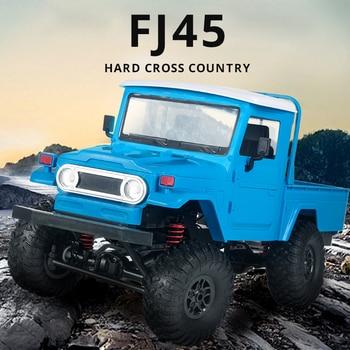 цена на MN Model MN45 1:12 Auto RC Car 4WD Machine Radio Control Cars FJ45 Off-Road Pickup Jeep On the Remote Control Toys For Children