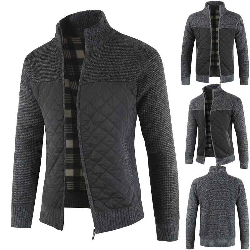 Mountainskin Men's Sweaters Autumn Winter Warm Knitted Sweater Jackets Cardigan Coats Male Clothing Casual Knitwear SA833 4