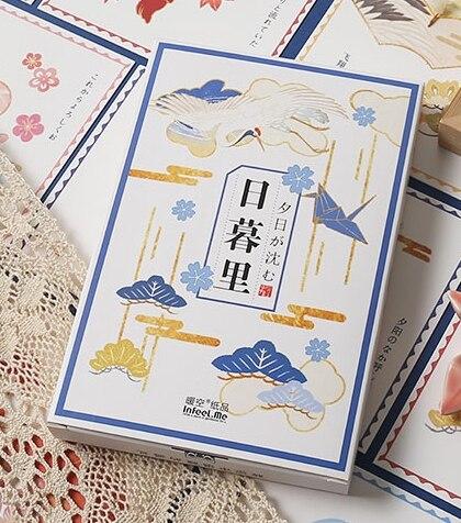 14.3cm*9.3cm Old Building Paper Postcard(1pack=30pieces)