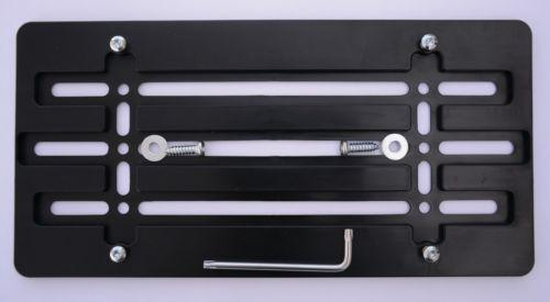 License Plate Frame Kit for Universal US Car ABS License Plate Holder Car Accessories 30*15cm