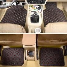 Mat Waterproof-Accessories Car-Floor-Mats Automobiles-Foot-Carpet Universal Interior