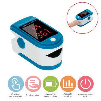 Palca pulsoksymetr LED cyfrowy wyświetlacz do pomiaru puls tlenu we krwi nasycenie Ward monitorowanie domowa opieka zdrowotna tanie i dobre opinie meterk CN (pochodzenie) Fingertip oximeter 2*AAA alkaline battery (not included) 30mA