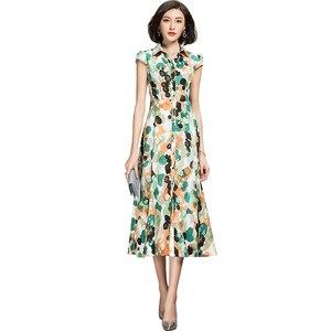 Nowy wzór Fashion Casual długa sukienka koszulowa 2021 szyfonowa sukienka dla kobiet