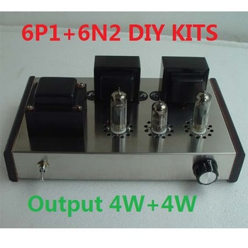 2019 ICAIRN AUDIO Special Offer Home Audio Tube Amplifier Assembly DIY Kits 6N1+6P1 Power Amplifier DIY 4W+4W AC110V/220V Option
