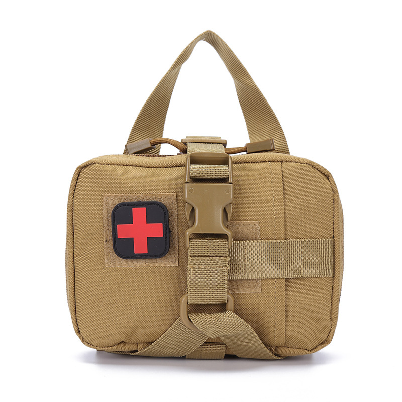 Outdoor Camping First Aid Kit Tactical Medical Portable Military Hike  Medicine Package Emergency Oxford Cloth Waist Pack