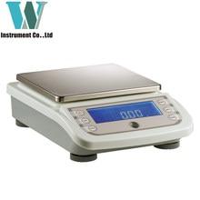O envio gratuito de alta qualidade 6000g 0.01g rs232 escala ouro digital pesando 6kg balança precisão comercial