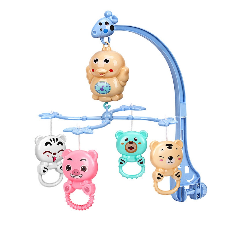 Crib Rattle Music Educational Toy Crib Bell Carousel 0-12 Months Newborn-Hot