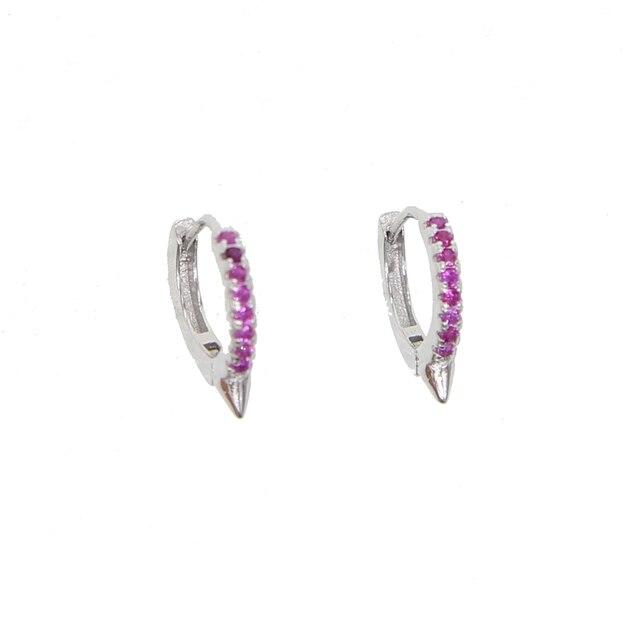 Купить женские серьги кольца из серебра 925 пробы 10 мм