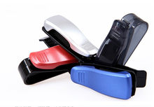 Car glasses clip Holder Ticket Clip for AUDI S line A4 A3 A6 C5 Q7 Q5 A1 A5 80 TT A8 Q3 A7 R8 RS B6 B7 B8 S3 S4 car styling(China)