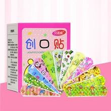 10 pçs/lote Crianças Respirável Ferida Remendo Dos Desenhos Animados Band-Aid Hemostático Curativo À Prova D' Água À Prova D' Água Adesivo Para Crianças dos miúdos