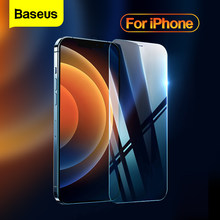Baseus 2PCS 0.3mm Screen Glass For iPhone 12 Pro 12Pro Max Mini Full Cover HD Protective Tempered Glass Film For iPhone 12ProMax