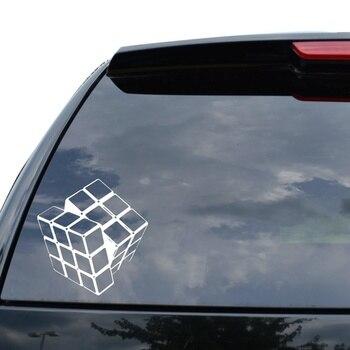 Для RUBIK'S CUBE PUZZLE, игровая наклейка, наклейка для автомобиля, грузовика, мотоцикла, окна, ноутбука, Настенный декор|Наклейки на автомобиль|   | АлиЭкспресс