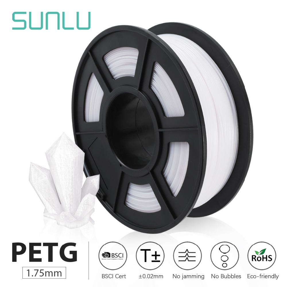 SUNLU PETG 3D Printer Filament 3