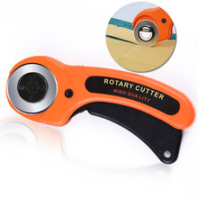 Nonvor 45mm Round Rotary Cutter Tool Card Paper Sewing Quilting Roller Fabric Cutting Tailor Scissors Dress Clothes Making DIY