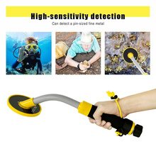 New 30m Underwater Metal Detector PI-iking 750 Induction Pinpointer Expand Detection Depth with LED Light when Detects Metal