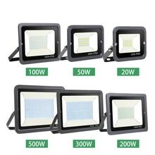 Светодиодные настенные прожекторы для воды, прожектор, светильник 10 Вт-500 Вт, Водонепроницаемый отражатель IP65, 220 В, прожектор, светильник для улицы, декоративный сад