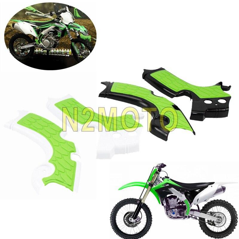 Protecteur de cadre pour moto tout-terrain, pour Kawasaki KX250 2019 KXF250 KX250F 2015 2016 2017 2018